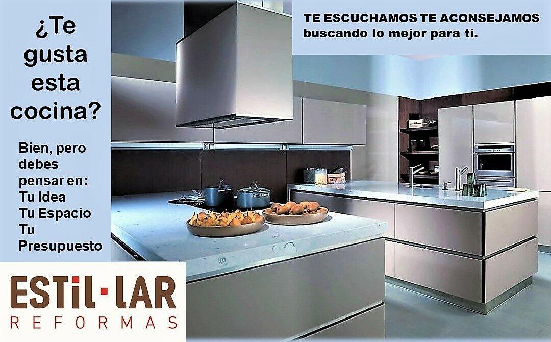 ¿Te gusta esta cocina?. Bien, pero la que de verdad importa es la tuya.