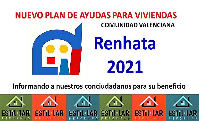 Nuevo Plan de Ayudas a la Reforma de Viviendas. RENHATA 2021